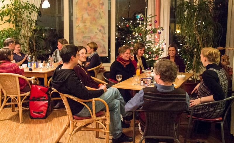 Oldenburg Weihnachtsfeier.Evangelische Studentinnen Gemeinde Oldenburg 14 12 2018